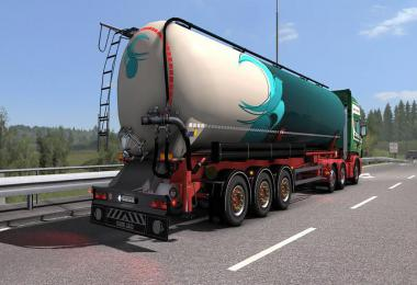 Owned Feldbinder silo trailer v1.0