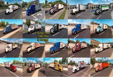 Painted Truck Traffic Pack by Jazzycat v1.7