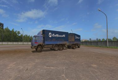 Pack Kamaz FOR THE CARD RUSSIA v2.7