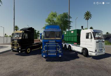 Scania 143M hooklift v1.0.0.0