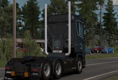Scania NG Middle Exhaust v1.0