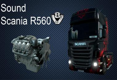 Scania R560 v8 Sound v7.0