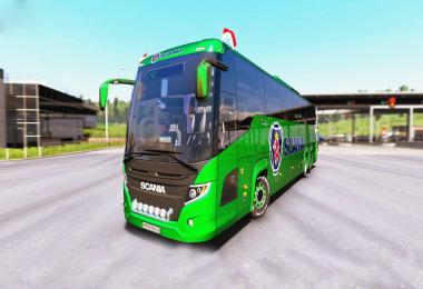 Scania Touring Bus 1.33 and 1.34 or heigher