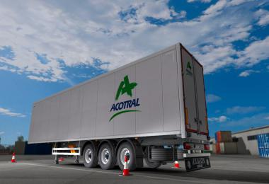 Skin Acotral Trailer - ets2 1.34