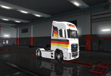 SKINS GERMANY FLAG FOR FORD F-MAX 1.34.x