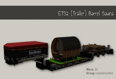 Trailer Barrel Sauna v1.0