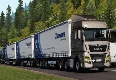 Triple Krone Trailer High Capacity Trailer 1.34.x