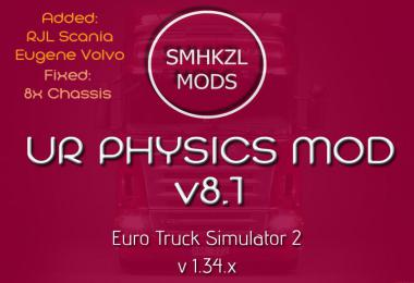 U.R Physics Mod v8.1 - (Added: RJL & Eugene) + Fix 1.34.x