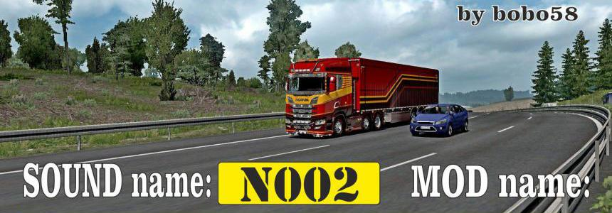 Sound mod for engine ETS2 1.34.x