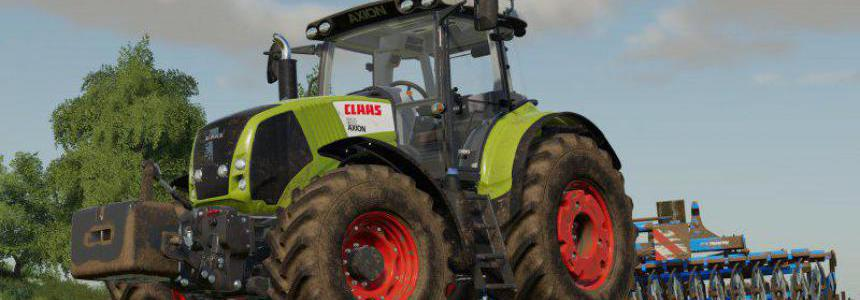 Claas Axion 800 + Weight 900kg v1.0.0.0