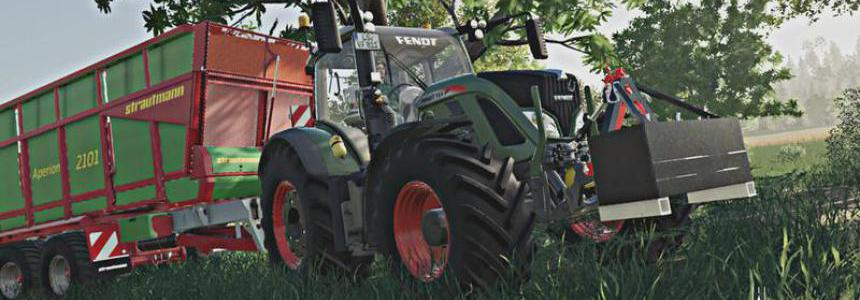 Fendt 700 Vario By Contractor Westfalen LS19 v1.0