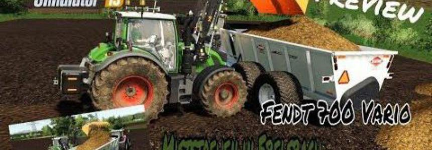 Fendt Vario 700 by The Iseki Friends v1.2.0
