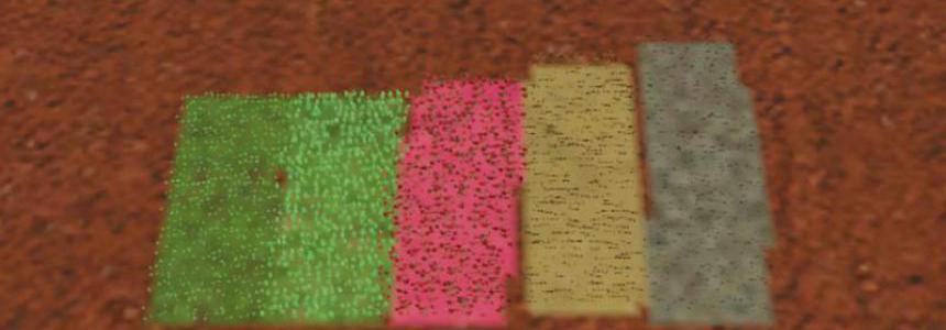 Foliage poppy texture v1.1