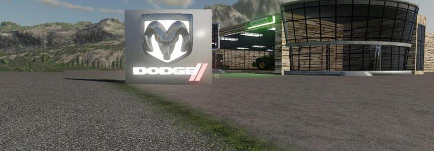 FS19 Placeable Dodge Sign v1.0