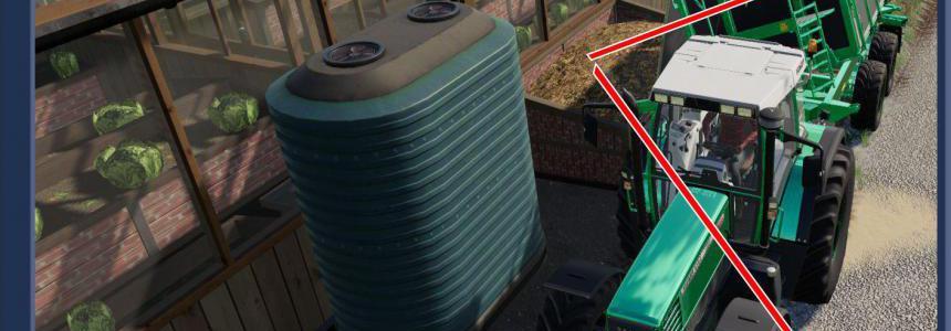 Greenhouses Manure Trailer Filling v1.3.0