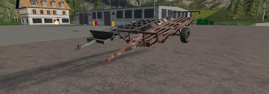 Hungarian Homemade Bale Trailer Pack v1.0