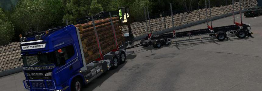 JYKI Timber Tandem Trailer v1.3