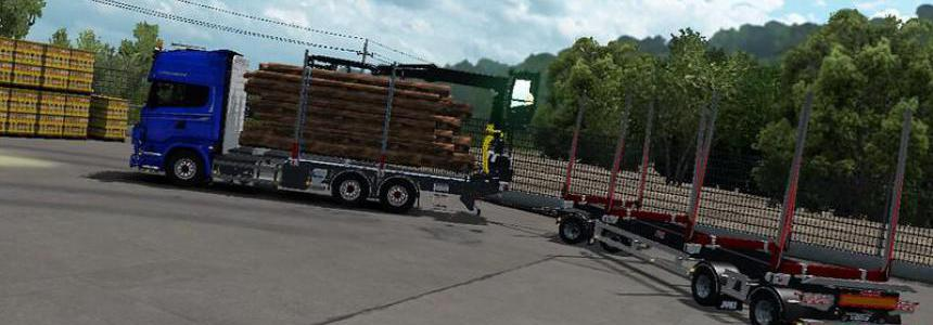JYKI Timber Tandem Trailer v1.3.3
