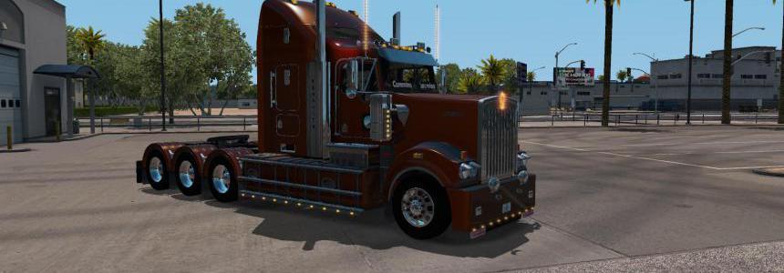 Kenworth T908 6x2 6x4 Tri Drive 1.34.x