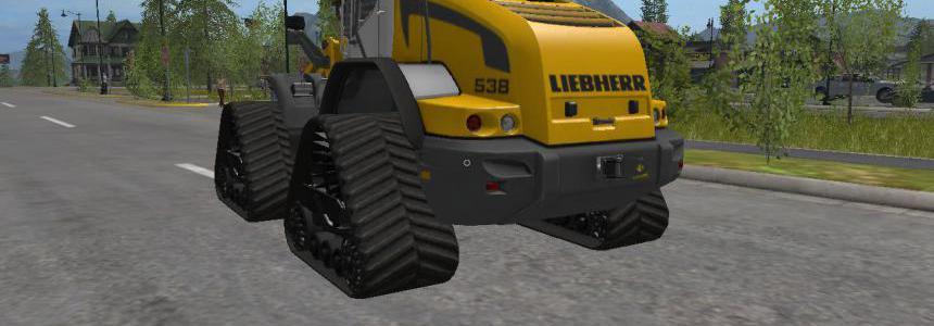Liebherr L538 Tracked Loader v1.0