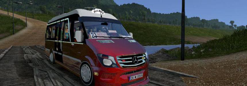 Mercedes Sprinter 2017 Dolmus ATS v1.2