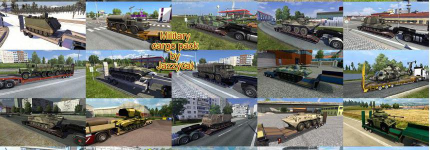 Military Cargo Pack by Jazzycat v3.4