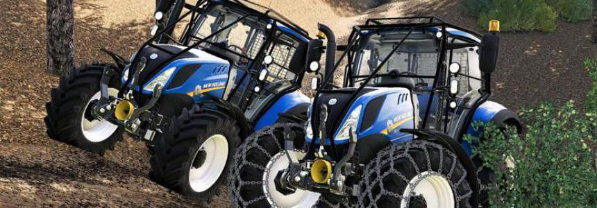 New holland T5 with forestry upgrade v1.0