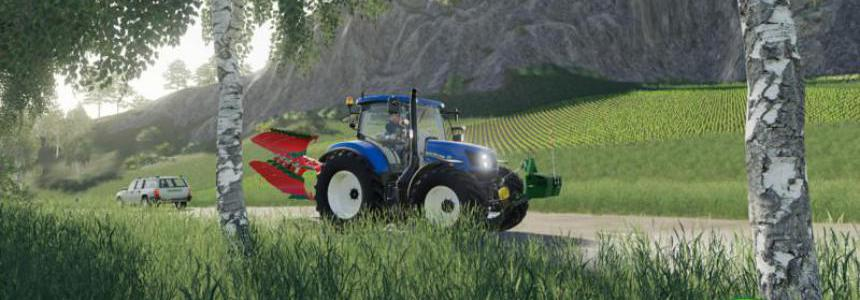 New Holland T6 Autocommand v1.0