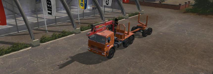 Pack Kamaz FOR THE CARD RUSSIA v2.9.1