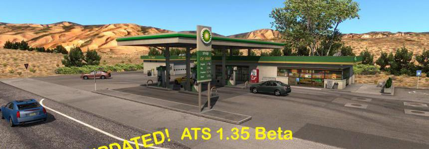 Real USA GAS STATIONS UPDATED 1.35 BETA