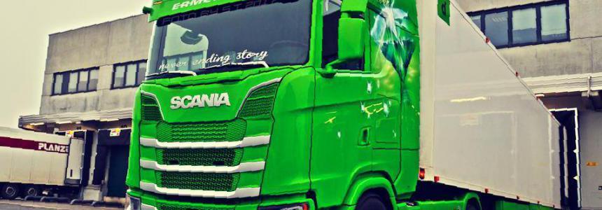 Scania R,S (Next Gen) & RJL Deep V8 Sound v3.0