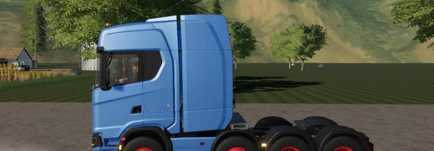 Scania R730 8x4 fs19 v1.0