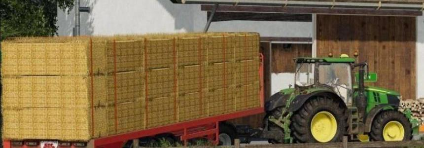 SDC Flatbed Trailer with Autoloads v2.0