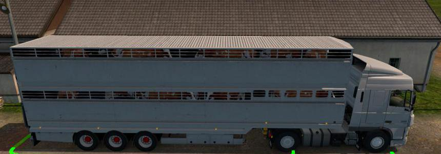 Semi trailer-cattle carrier in ownership v1.0