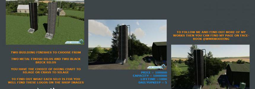 Silage Production Tower Pack v1.0
