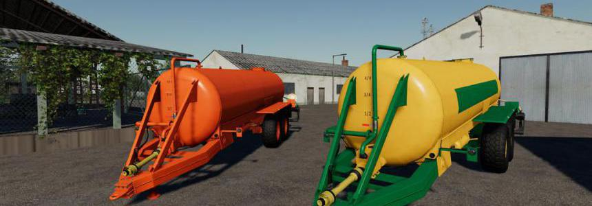 Slurry Tanker 14 with injector v1.1.0.0