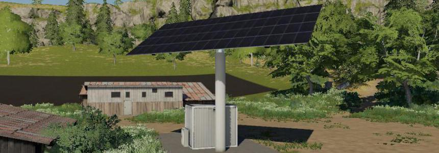 Solar Collecting Single Array Unit - Large v1.0.0.0
