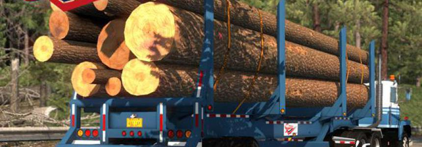 Sparta 4 Bolster Log Trailer v1.0 1.34.x