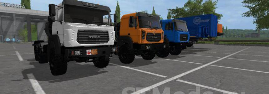 Ural-M and Semitrailer v1.0.0.0
