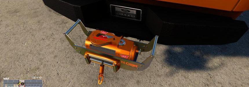 Warn Bumper Attachable Winch v1.0