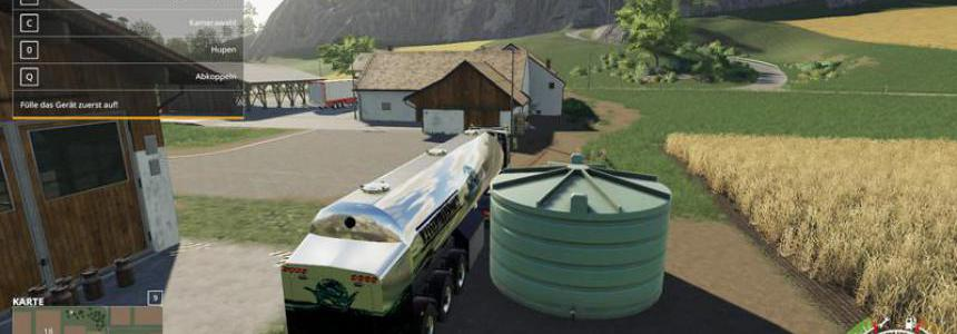 Water transport semi-trailer v1.0.0.0