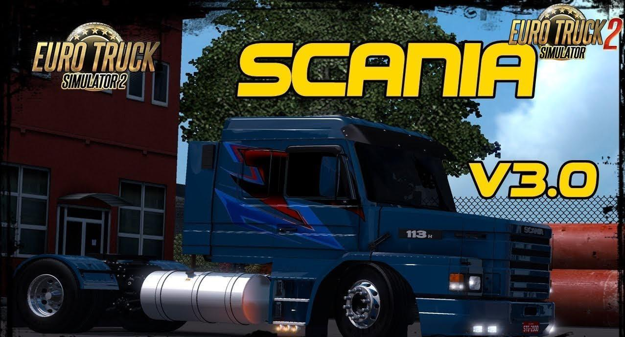 Scania 113H + Interior v3 0 - Modhub us