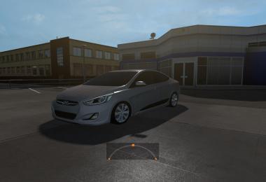 Hyundai Accent Blue v1.0
