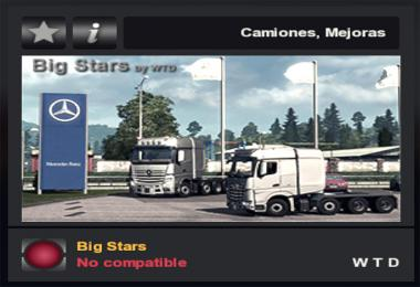Big Stars Actros/Arocs Fix 1.35