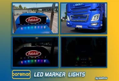 Boreman LED Marker Lights ETS2 v1.7 1.35