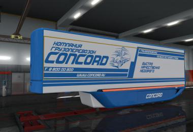 Concord Aerodynamic Trailer skin v1.0