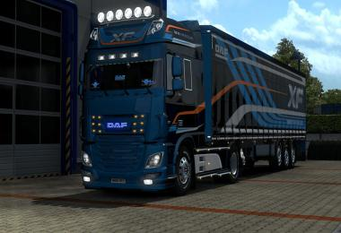 DAF XF 750 hp (Single Player) v1.0