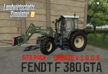 Fendt F 380GTA MegaPack v1.0.0.5