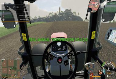 FS19 Real Manual Transmission v0.4.2.0