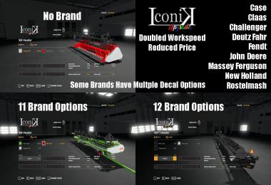 Iconik Header Pack v2.0